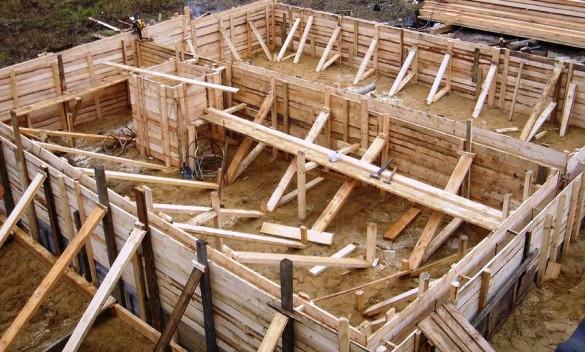 Деревянная опалубка для стен