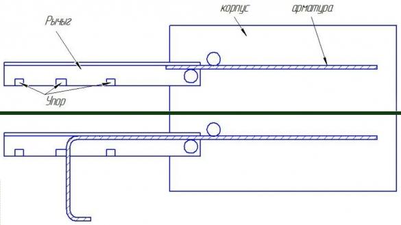 Станок для гибки арматуры своими руками (чертеж фото)
