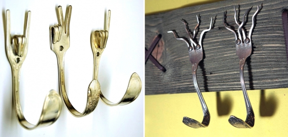 Крючки и вешалки своими руками фото