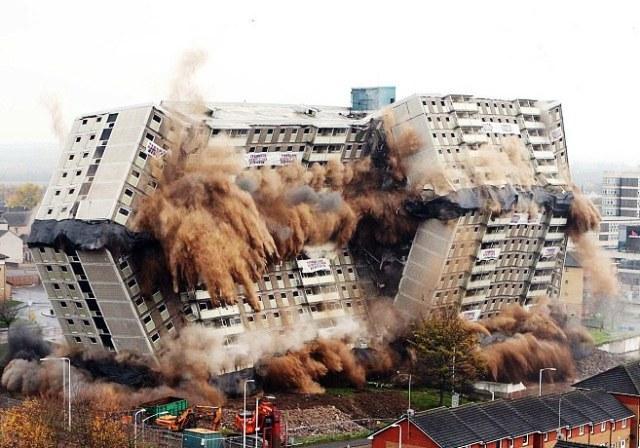 Конкурс по демонтажу здания