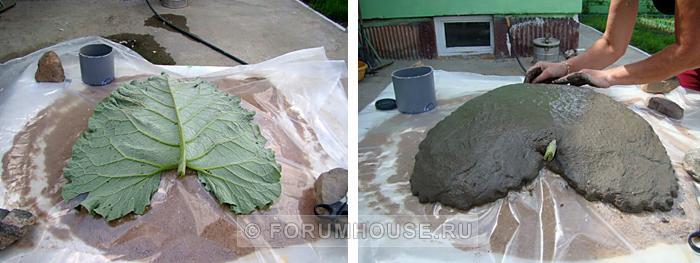 Изготовление садовых фигур своими руками из бетона