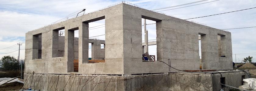 Как построить своими руками монолитный дом