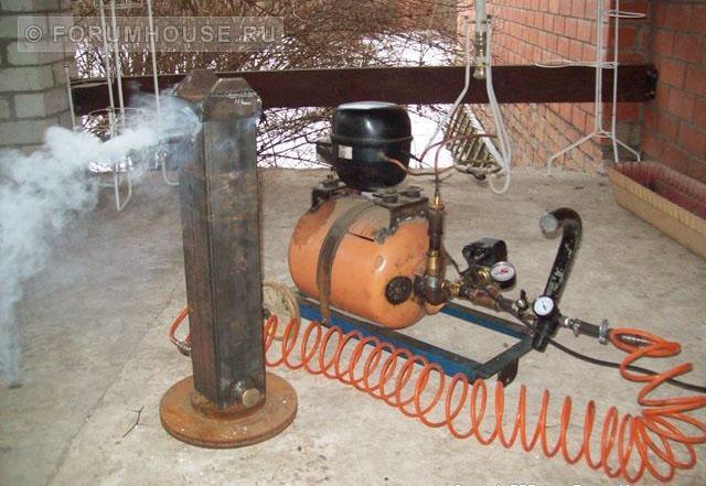 Компрессор для дымогенератора холодного копчения своими руками 631