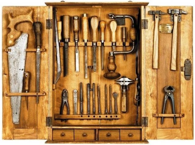 Комплект инструментов своими руками 72