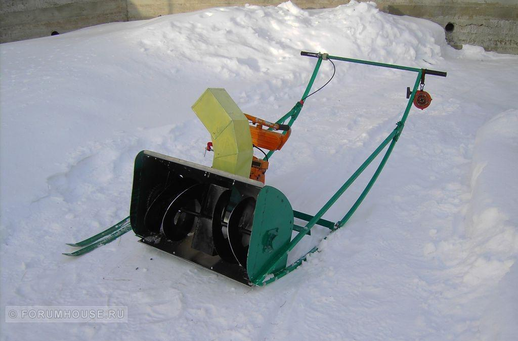 Самодельные снегоуборщики из бензопилы видео