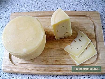 Приготовление сыра в домашних условиях с видео