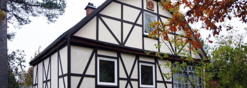 Фасад под фахверк из цсп своими руками