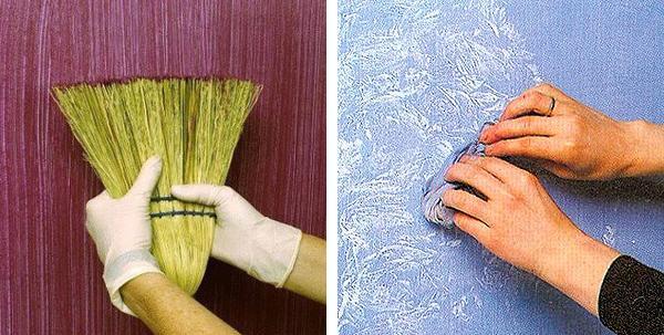Декор своими руками покраска