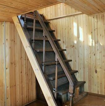 Лестницы на второй этаж своими руками если мало места