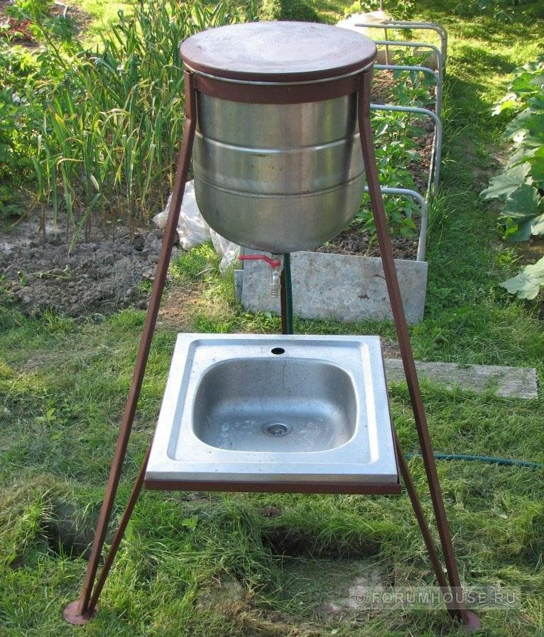 Как сделать стиральную машину для дачи