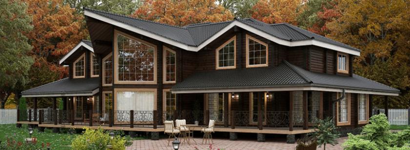 Россияне выбрали лучшие деревянные дома