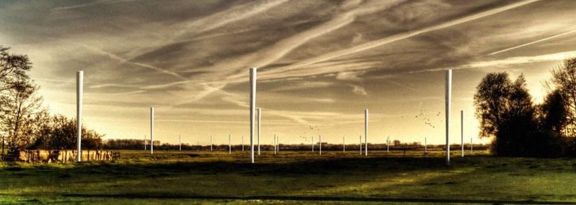 Ветряная турбина: без шума и лопастей