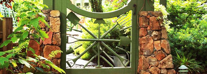 Красивые и надежные калитки и ворота. Личный опыт
