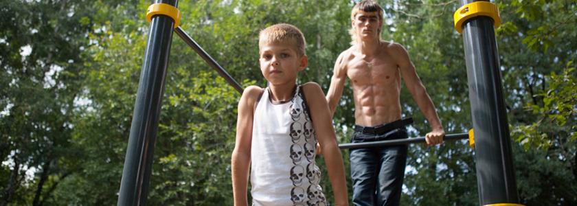 Все лучшее – детям: спортивная площадка на даче