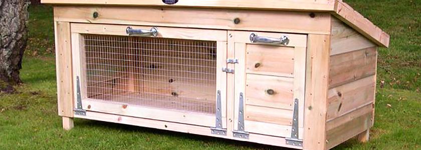 Дом для кроликов