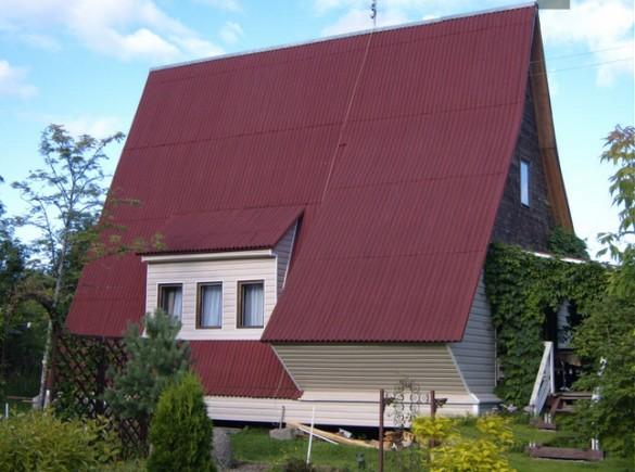 Das Fehlen Einer Vollständigen Wand Und Eine Große Fläche Des Daches Machen  Sie Darüber Nachdenken, Nach Hause Isolierung. Wenn Wir Die Qualität Des ...