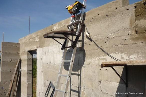 Подъемник для строительства своими руками