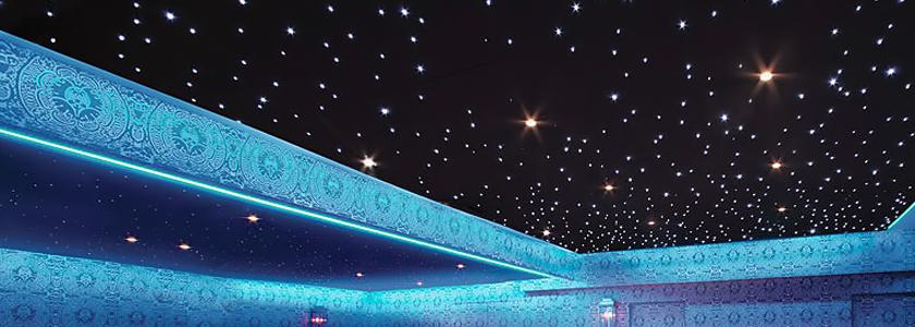 До звезд рукой подать. Как создать потолочную подсветку в виде ночного неба