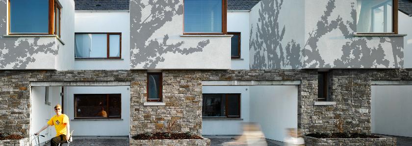 Фасадные обои – система для наружной отделки