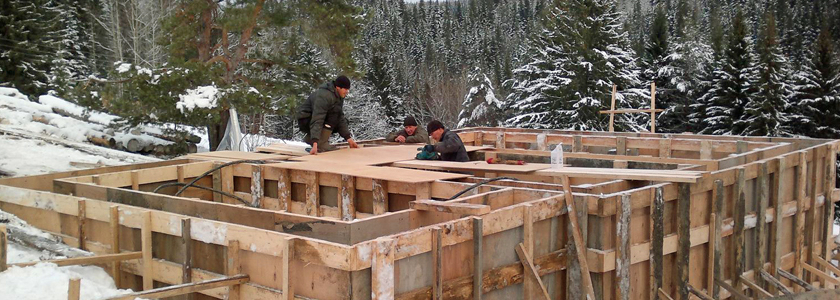 Как построить фундамент зимой – рекомендации от экспертов FORUMHOUSE
