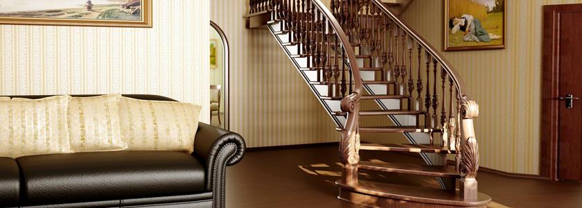 Лестницы наружные и внутренние: виды, особенности конструкции, интересные решения