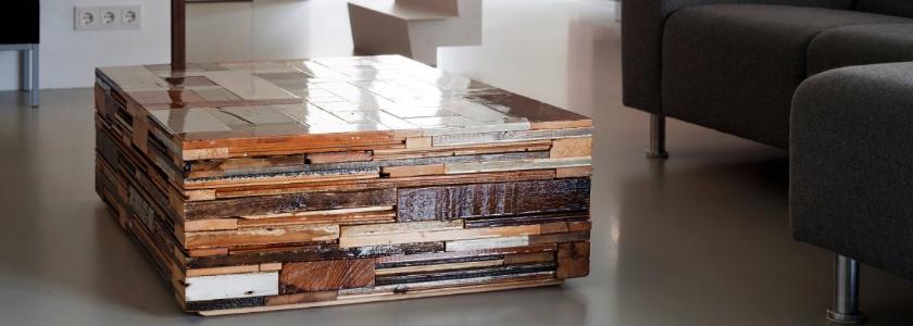 Вторая жизнь строительных отходов: мебель, полки и многое другое