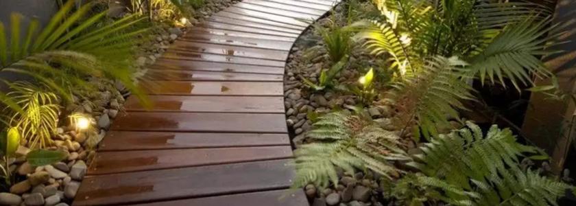 Деревянные дорожки: популярные виды, опыт форумчан