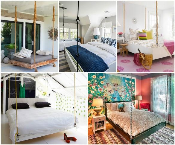 Подвесная кровать - стильно, уютно, практично - Дом и стройка - Статьи