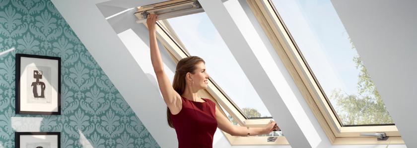Новое поколение мансардных окон VELUX: больше света, лучше защита, проще выбор!