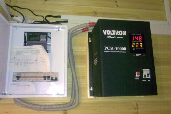 Подключение стабилизатора напряжения в щиток сварочный аппарат инвертор 5000 вт цена