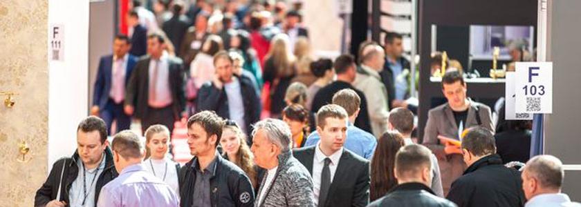 Открытие самой крупной в России выставки строительных и отделочных материалов