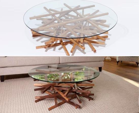 Как сделать оригинальный столик