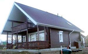 Деревянный дом Скандитек