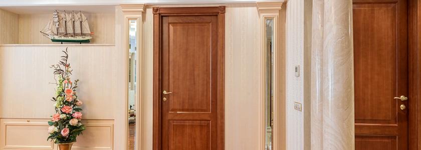 Межкомнатные деревянные двери – доводим до ума бюджетную болванку