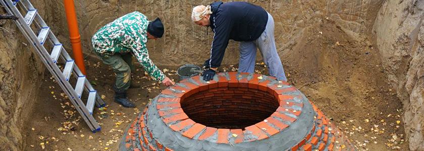 Строительство круглого погреба: личный опыт