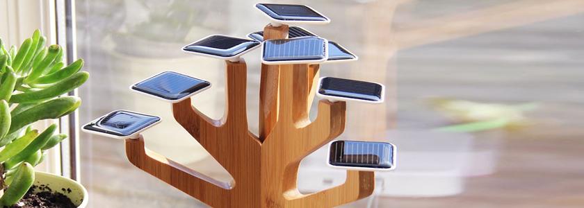 Зарядка солнцем – миниатюрные комнатные батареи