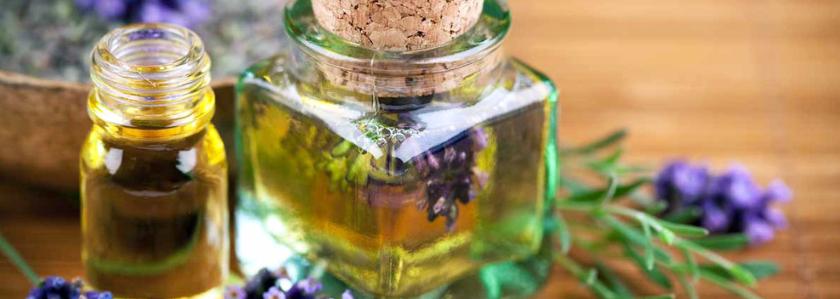 Ароматическое масло из дачной травы