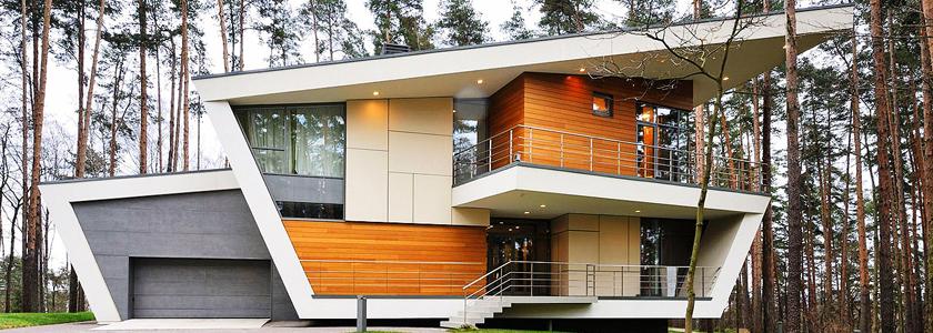 Необычные дома – воплощение оригинальных задумок