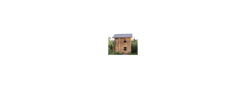 Компактный домик на маленьком участке