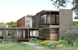 зелёный дом