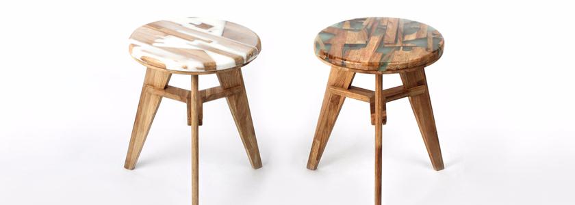 Стул из гибридной древесины: идея на заметку