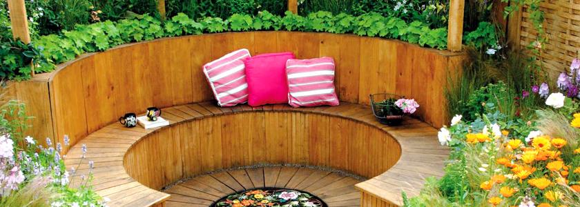 Маленький частный рай: зоны отдыха на даче небольшого размера