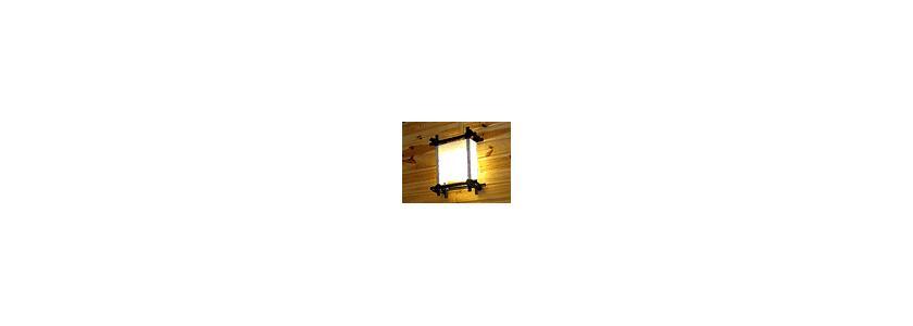 Светильник на даче