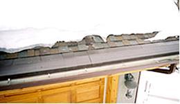 Борьба с обледенением крыш