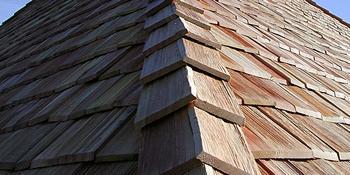 Шиндель - деревянный кровельный и фасадный материал
