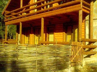 Дачный участок в деревенском стиле