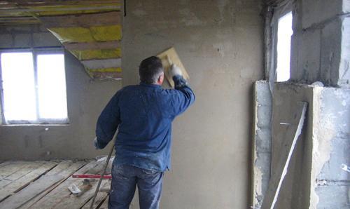 Оштукатуривание стен
