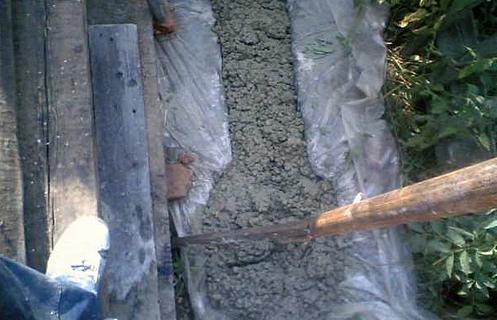 разравнивание бетона