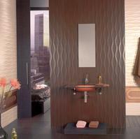 Настенная объёмная плитка компании Tau Ceramica