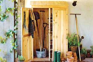 Садовый шкаф своими руками